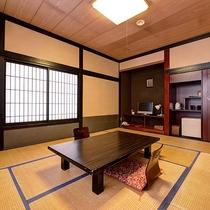 *【本館(旧館):ペット10畳】ペットと一緒に宿泊ができる、専用のお部屋です