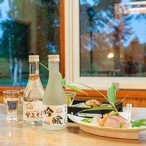 *【お飲み物】かみくらのお料理に合う様々なお酒をご用意しております。お食事と一緒にお楽しみください