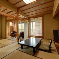 *【新館:スーペリアルーム】5名までご利用いただける和室3間の特別なお部屋