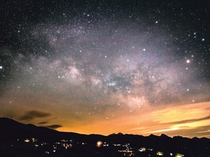 車山高原の夜空