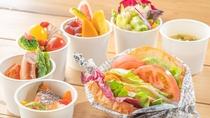 たっぷりの野菜とスーパーフードを使用した、フォルツァの元気な朝食をお楽しみください