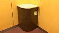 ◆非常用トイレ◆エレベーター内に完備(飲料水、非常用ライト、トイレ紙、消臭剤も収納)