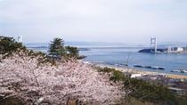 下津井城跡 桜