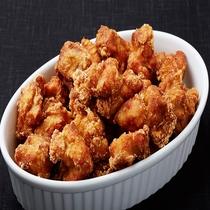 ◆外はサクッと、中はジューシーな鶏のから揚げです♪