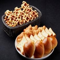 ◆洋食派でもOK! パンやワッフルもご用意しております♪