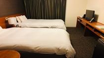 ◆ツインベッドルーム (120×195センチ) 21平米