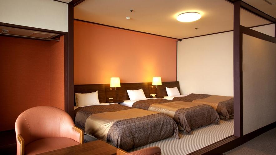 ラージトリプルルーム(36平米以上)※部屋タイプ各種あり。一例