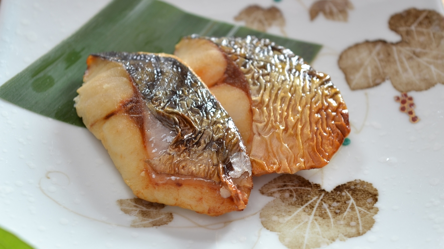 ≪朝食バイキング≫焼き魚