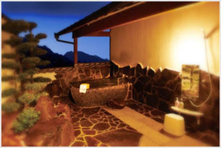 【客室】 露天風呂付和室