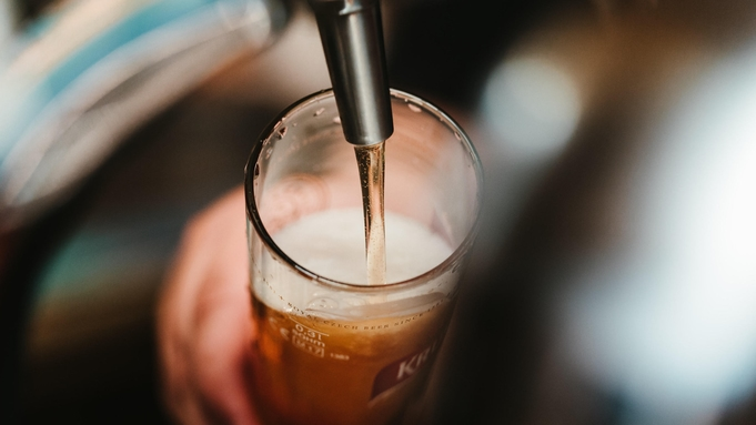 【現金不可】【地ビール好き必見】★品川縣ビール付き★ゆったり部屋飲みをお楽しみください♪(素泊まり)