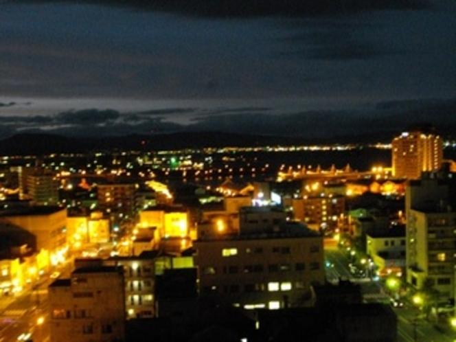 夜景(函館港側)