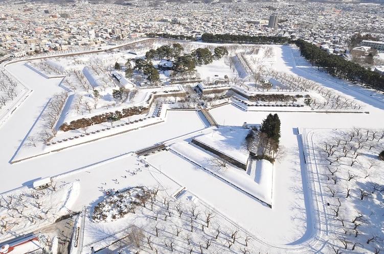 【冬】五稜郭公園
