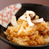 松茸御飯(一例)