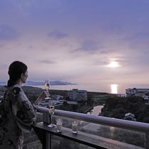 特別フロア「バルコニーからの眺め」