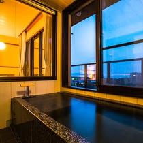 2,3,4階の展望温泉風呂