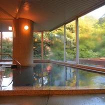 夕方の大浴場