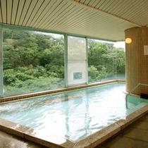 朝の大浴場