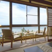 海側客室/一例