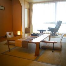 展望温泉石風呂客室/一例