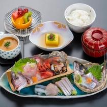 ~日本海鮮魚の姿盛りランチ~