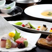 【夕食イメージ】総料理長 池田和彦の腕が光るお料理の数々
