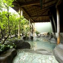 【大浴場】石華の湯露天風呂