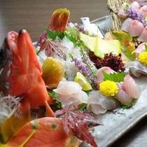 【夕食】地魚盛合せ