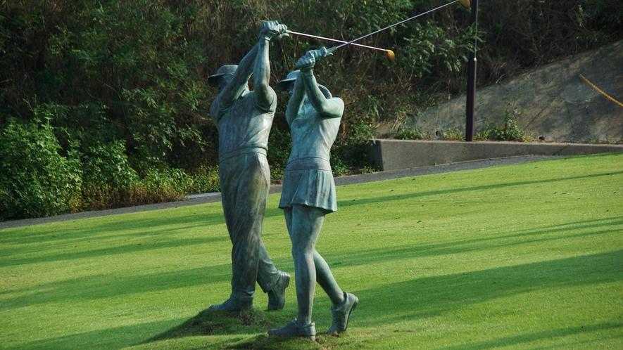 *ゴルフ一例