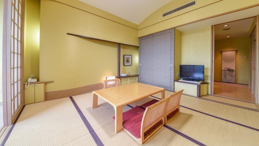 *【和室】お子様連れのファミリーに人気なのが和室。畳はごろごろできてオススメ!