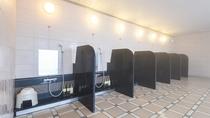 *【女性大浴場】広々とした大浴場は、洗い場も多くて快適です。