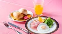 *【お子様用朝食】一例。