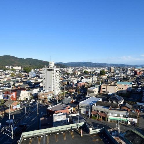 屋上からの風景