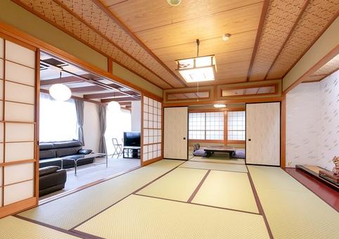 【柳の館】和室16畳(風呂無・喫煙)