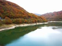 五十里湖の紅葉