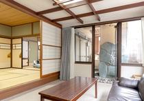 【柳の館】露天風呂付客室2(喫煙)