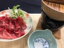 【別注料理】牛タンしゃぶしゃぶ