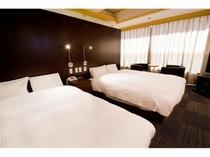 デラックスツインルーム【36㎡】ベッド幅150cmでゆったり