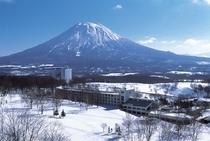 ニセコビレッジ全景(冬)