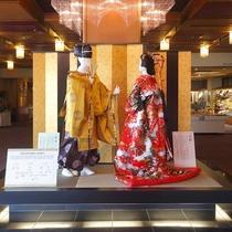 展示「吉良上野介と富子夫人」
