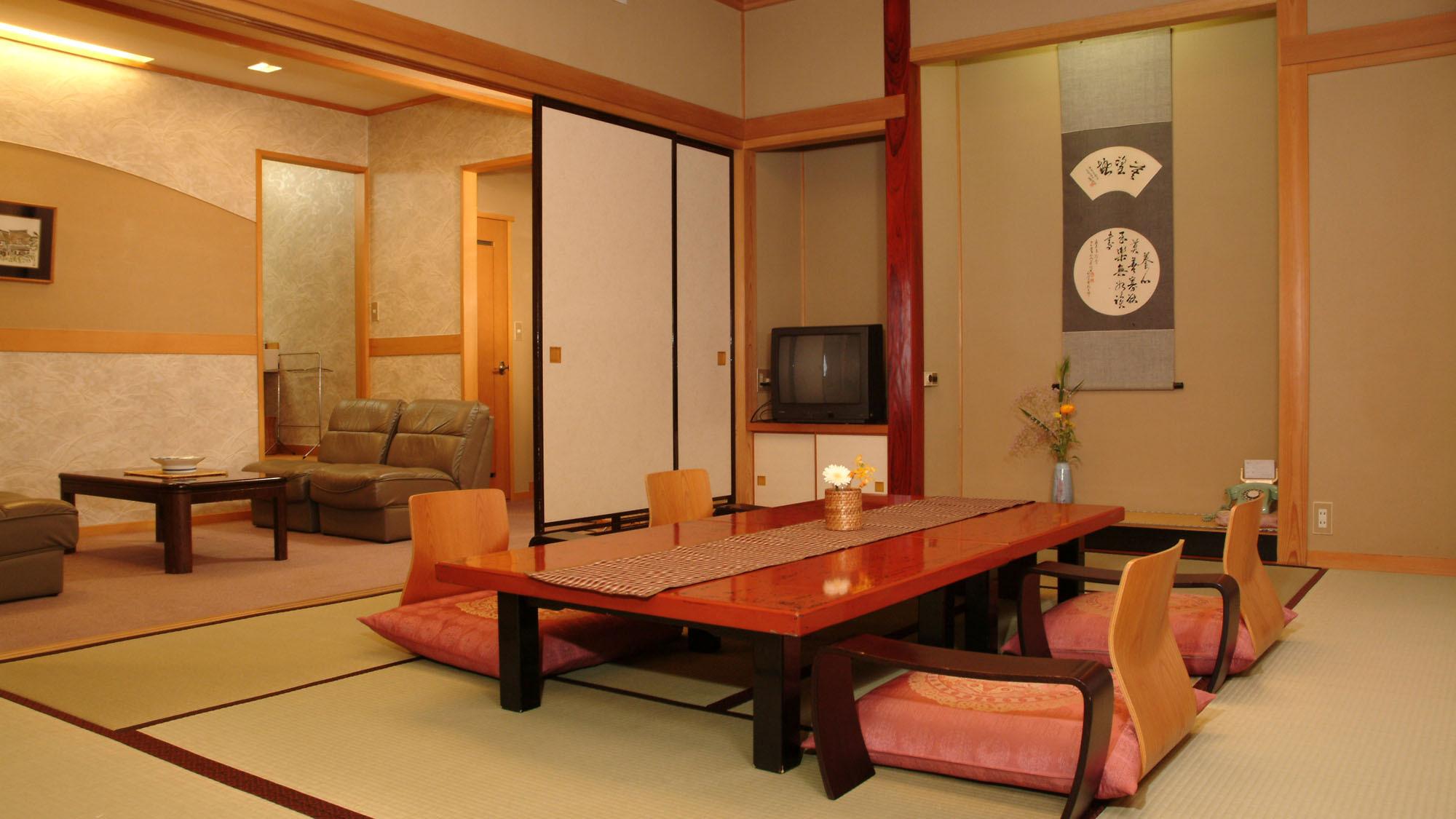 ■【次の間付き客室(10+6畳) 一例