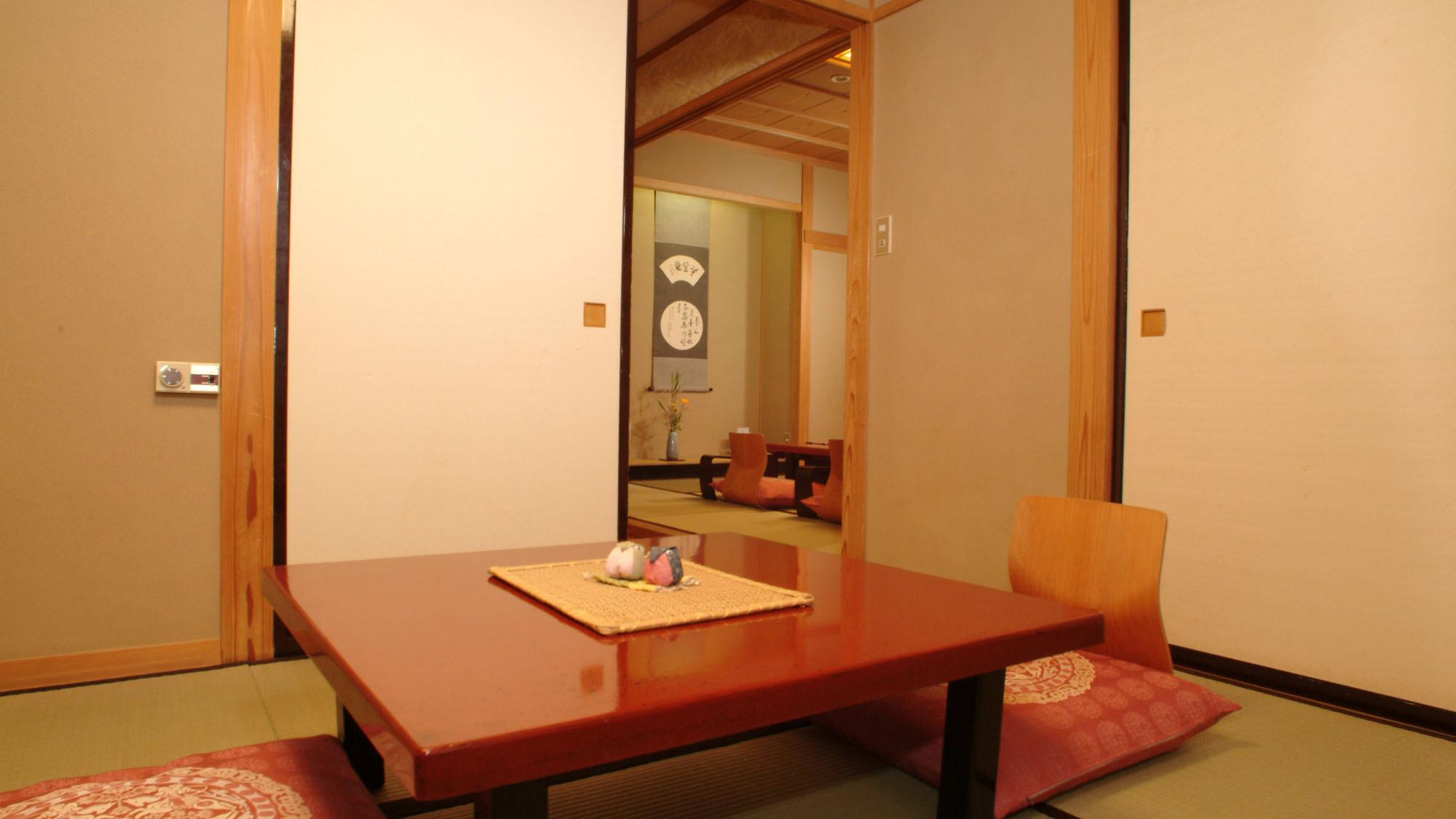 ■次の間付き客室(10+6畳) 一例