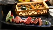 信州牛・太郎ポーク・地鶏の真田丸を一度にお楽しみいただけます