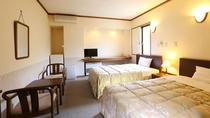 ■洋室 ツインベッドルームはビジネスマンにも人気
