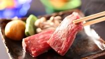 信州牛をステーキでお楽しみ下さい