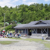 青海島キャンプ村(車で約25分)