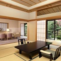 ■「離れ西京亭・貴賓室」露天風呂付和室12.5畳+4.5畳