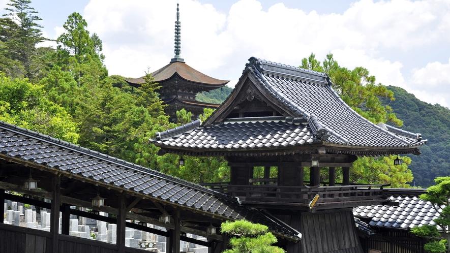 国宝 瑠璃光寺 五重塔