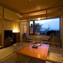 富士見台・露天風呂付和室(一例)