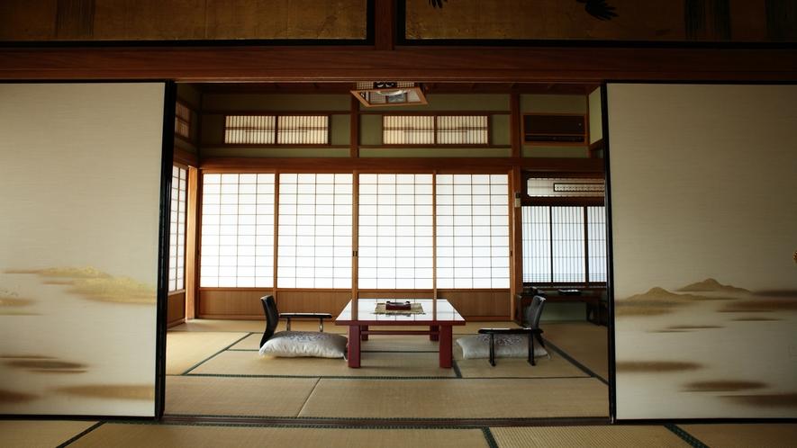 【数寄屋造り離れ/延寿閣】気品と静寂に満ちた穏やかな空間