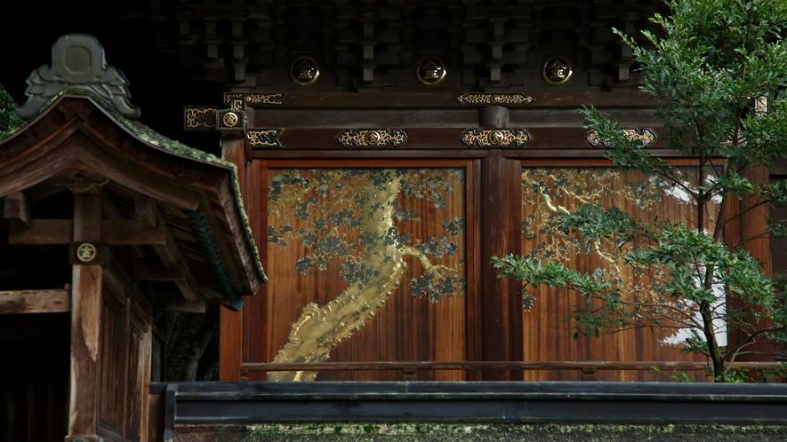 【金刀比羅宮】本殿壁面に残る金銀の細工